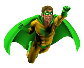 Poster Superheroes Amazing Superhero Illustration