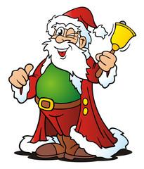 Paunched Santa Twinkling