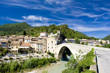 Fotomurales - Nyons, Département Drôme, Rhône-Alpes, France