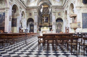 Interno della Basilica di Santa Maria Maggiore, Bergamo Alta