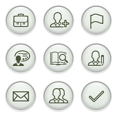 Gray icon with button 1