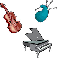 Musical Instruments 02