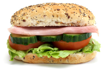 Multi Seeded Ham Roll