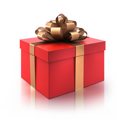 Rotes Geschenk 2