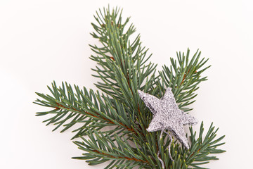 Christmas tree with star