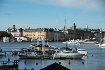 Blasieholmen from Djurgarden bridge