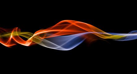 Merging energy streak backdrop