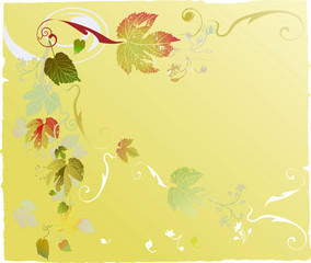 autumnal leaf background