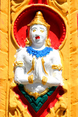 Buddhist Art Carving And Painting