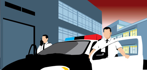 Patrol and policemen