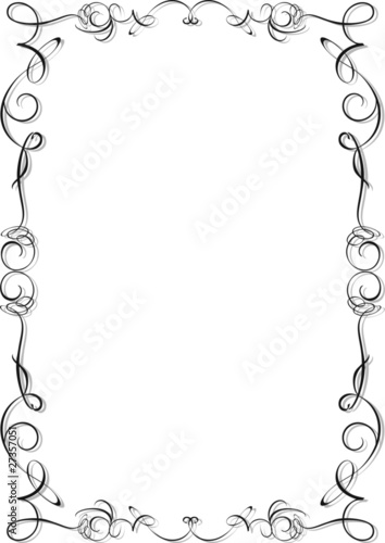 Cornice Ornamentale Ornamental Frame Vector Stock Image And Royalty