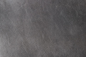 natural black leather background close-up