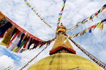 Stupa Buddhanath in Nepal