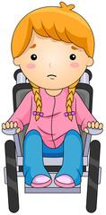 Kid on a Wheelchair