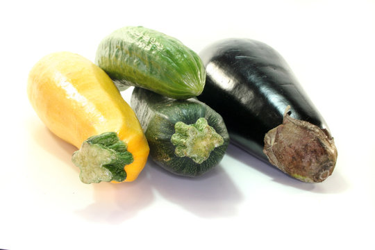 Zuccini und Gurke