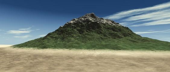 Frühlingsberg in der Sandwüste
