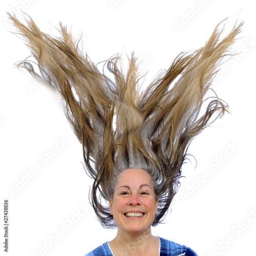 Причёска волосы вверх