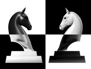 Chessman Horse head
