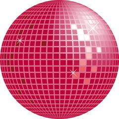 Shiny disco globe