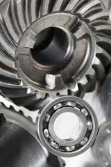titanium engineering concept
