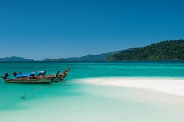 Longtail boats, Koh Lipe Thailand