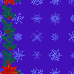 Christmas seamless pattern. vector.