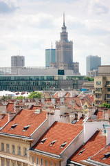 Warsaw and Palace of Culture and Science