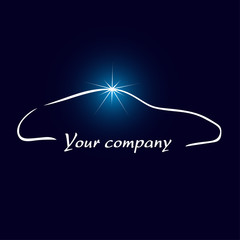 logo entreprise, automobile, nettoyage