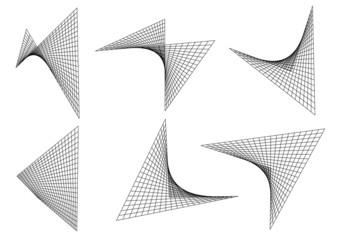 hyperbolic paraboloid vector