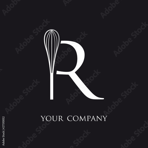 logo entreprise logo restaurant fouet cuisine stock image and royalty free vector files on. Black Bedroom Furniture Sets. Home Design Ideas
