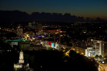 Hamburg Reeperbahn bei Nacht