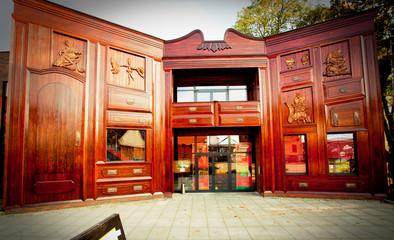 Puppet theatre in Torun,Poland