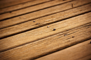 Old Timber Decking