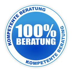 Button - 100% Beratung