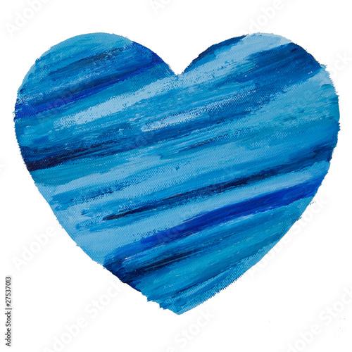 blaues herz auf leinwand stockfotos und lizenzfreie bilder auf bild 27537013. Black Bedroom Furniture Sets. Home Design Ideas