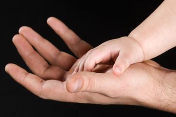 Men's and children's hand
