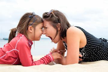 rapports conflictuels entre mère et fille
