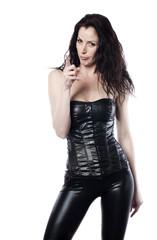 femme vinyl latex sexy érotique