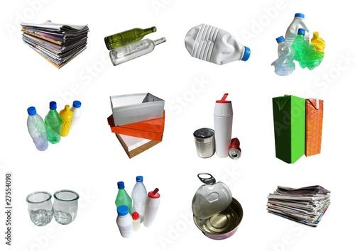 d chets m nagers recyclables photo libre de droits sur la banque d 39 images image. Black Bedroom Furniture Sets. Home Design Ideas