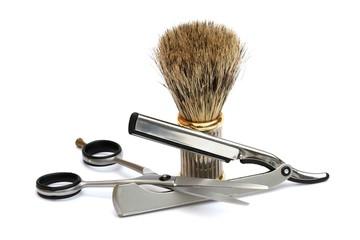 Outillage de barbier
