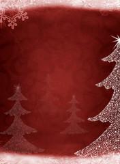 Christmas abstract fur-tree