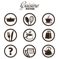 cuisine pictos