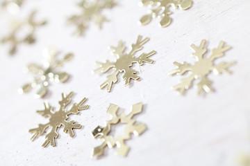 Schneeflocken Dekoration