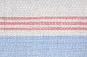 kitchen cloth striped