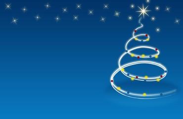 Christmas,xmas, Weichnachtsbaum,  blau, weiss