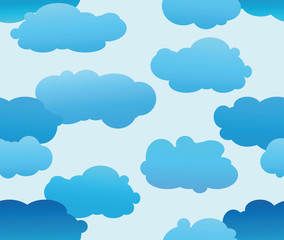 Keuken foto achterwand Hemel Cloud background