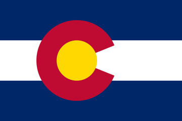 Wall Mural - Colorado state flag
