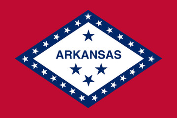 Wall Mural - Arkansas state flag
