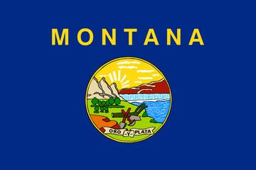 Wall Mural - Montana State flag