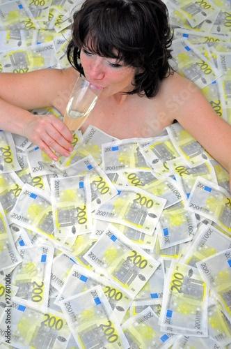 Im Geld Baden